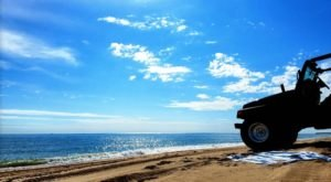 The One Beach In Rhode Island Where You Can Drive Right Up To The Water