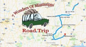 This Scenic Road Trip Takes You To All 7 Wonders Of Mississippi