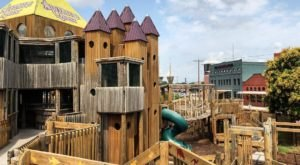 The Outdoor Playground At This Children's Museum In Oklahoma Is One Of Largest Of Its Kind In The World