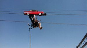 You Can Zipline Down Route 66 When You Visit This Quaint Arizona Town