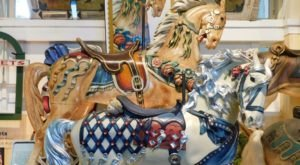 This Magical Merry-Go-Round Museum Near Cleveland Is Like A Childhood Dream Come True
