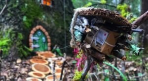 Few People Know There's An Enchanting Fairy Garden Trail Hiding In Texas