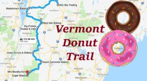 Take The Vermont Donut Trail For A Delightfully Delicious Day Trip