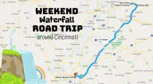 Here's The Perfect Weekend Itinerary If You Love Exploring Cincinnati's Waterfalls