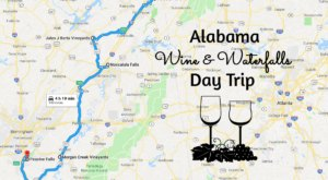 This Day Trip Will Take You To The Best Wine And Waterfalls In Alabama