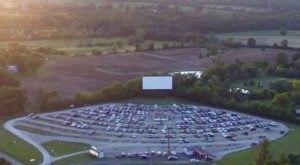 The Retro Drive-In Movie Theatre Near Cincinnati That's Been Around Since 1948