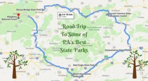 Here's The Perfect Weekend Trip If You Love Exploring Pennsylvania's State Parks