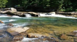 The Crystalline Clear Water In This West Virginia Swimming Hole Is Almost Too Good To Be True