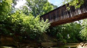 The Oldest Remaining Covered Bridge In North Carolina Is A Hidden Gem Everyone Should Visit