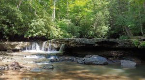 The Hike To This Little-Known West Virginia Waterfall Is Short And Sweet