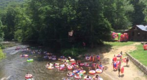 The River Campground In North Carolina Where You'll Have An Unforgettable Tubing Adventure