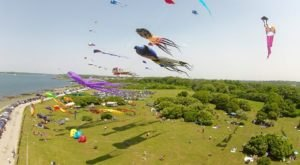 Don't Miss Out On This Colorful Seaside Kite Festival In Rhode Island