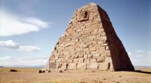 There's No Other Historical Landmark In Wyoming Quite Like This 139-Year-Old Pyramid