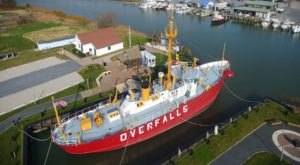 There's No Other Historical Landmark In Delaware Quite Like This 80-Year-Old Ship