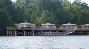 Spend The Night Over The Water In A Pier Cabin At This South Carolina Park