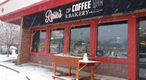 A Quaint Wisconsin Coffee Shop, Rosie's Serves Cinnamon Rolls That Are The Size Of Your Head