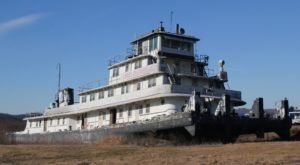 The Eerily Fascinating Mystery Behind The Spooky Abandoned Ghost Ship In Wisconsin