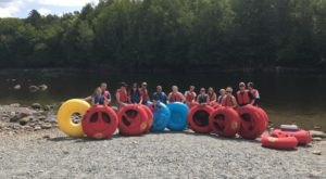 The River Campground In Maine Where You'll Have An Unforgettable Tubing Adventure