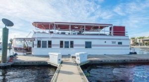 Spend The Night On The Water In This Wonderfully Cool Houseboat In Florida
