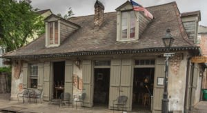 Sip Wine And Mingle With Ghosts In One Of Louisiana's Oldest, Most Haunted Bars