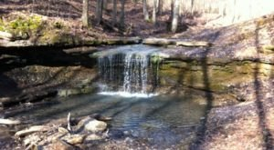 The Hike To This Little-Known Waterfall Near Pittsburgh Is Short And Sweet