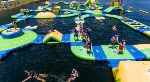 This Giant Inflatable Water Park In South Carolina Proves There's Still A Kid In All Of Us