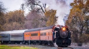 This 4-Day Train Tour In Northern California Is A Grand Adventure You'll Remember For Years To Come