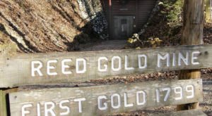 Go Deep Inside America's First Gold Mine On This One Of A Kind Tour In North Carolina