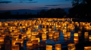 The Water Lantern Festival In Delaware That's A Night Of Pure Magic