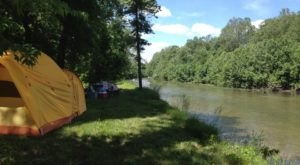The River Campground In Missouri Where You'll Have An Unforgettable Tubing Adventure