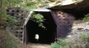 Hike To An Abandoned Village And King's Hollow Tunnel In Ohio