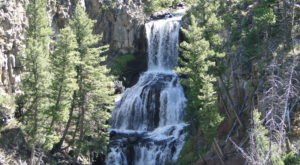 Take This Easy Trail To An Amazing Triple Waterfall In Wyoming
