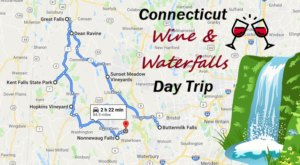 This Day Trip Will Take You To The Best Wine And Waterfalls In Connecticut