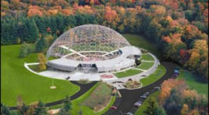 Most People Don't Realize This Bizarre Geodesic Dome Is Hiding In Greater Cleveland