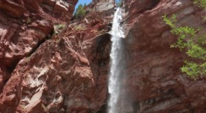The Hike To This Little-Known Colorado Waterfall Is Short And Sweet