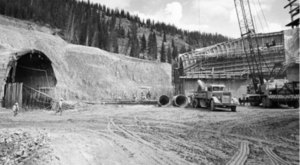9 Rare Photos Taken During The Eisenhower Tunnel Construction That Will Simply Astound You