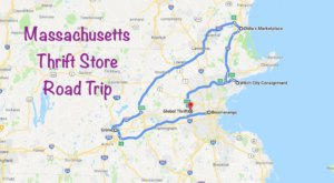 This Bargain Hunters Road Trip Will Take You To Some Of The Best Thrift Stores In Massachusetts
