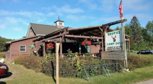 Dig Into Massive Portions At This Rustic Camp Restaurant In Michigan