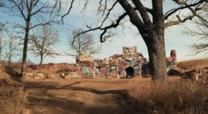 This Creepy Spot Deep In The Woods Of Iowa Is Like Something Out Of A Horror Movie