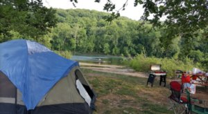The River Campground In Virginia Where You'll Have An Unforgettable Tubing Adventure