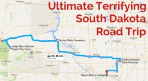 The Ultimate Terrifying South Dakota Road Trip Is Right Here – And You'll Want To Do It