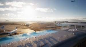 This New York Airport Is Getting A Rooftop Pool Just In Time For Summer