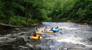 The River Campground In New Hampshire Where You'll Have An Unforgettable Tubing Adventure