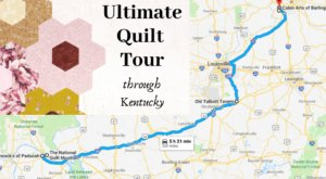This One-Of-A-Kind Quilt Tour Through Kentucky Is A Crafter's Dream Come True