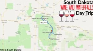 This Daytrip Will Take You To The Best Wine And Waterfalls In South Dakota