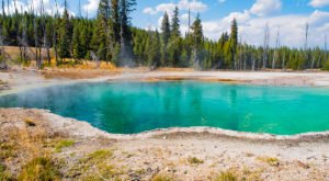 Most People Don't Know About Wyoming's Deadly Underground Hot Springs