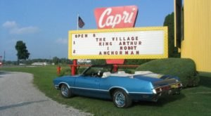 Watch A Movie Under The Stars At This Historic Drive-In Theater In Michigan