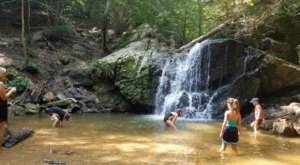 The Hike To This Little-Known Maryland Waterfall Is Short And Sweet
