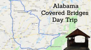 This Day Trip Takes You To 7 Of Alabama's Covered Bridges And It's Perfect For A Scenic Drive