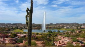 This Arizona Fountain Is The Coolest Thing You'll Ever See For Free